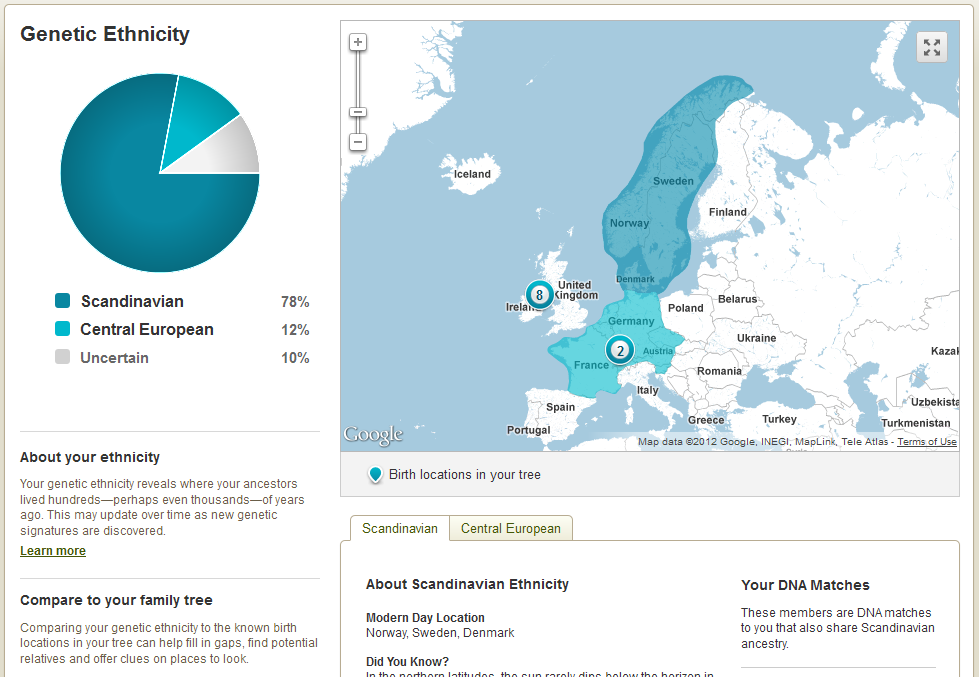A Review of AncestryDNA - Ancestry com's New Autosomal DNA Test