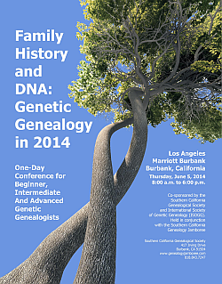Family History and DNA 2014