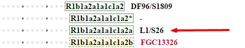 ISOGG 2015 Y DNA Haplogroup R