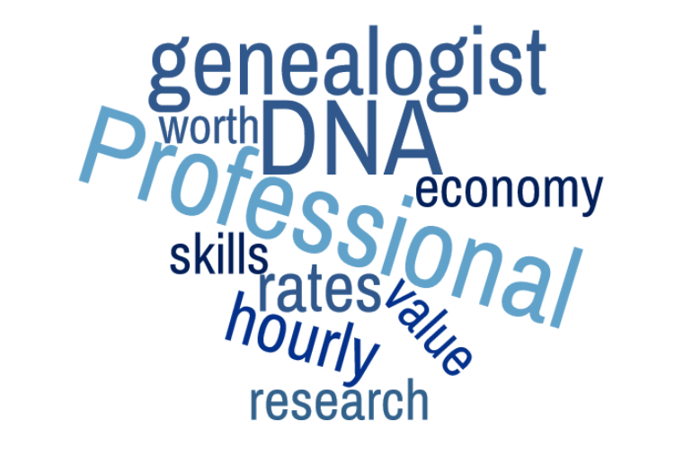 Charging for (Genetic) Genealogy Services - The Genetic Genealogist