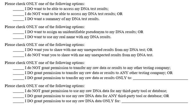 Informed Consent Agreement And Beneficiary Agreement The Genetic